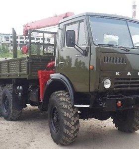 КАМАЗ 4310 С манипулятором