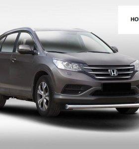 Защита бампера перед, зад, Honda CR-V 2013