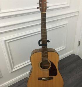 Акустическая гитара Fender cd140s nat с чехлом