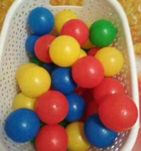 Шарики для сухого бассейна 40 штук