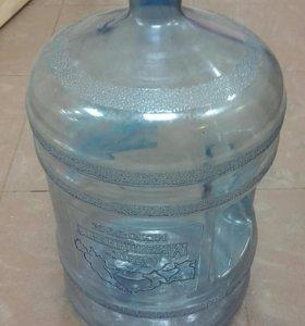 Бутыли для воды 19 литров