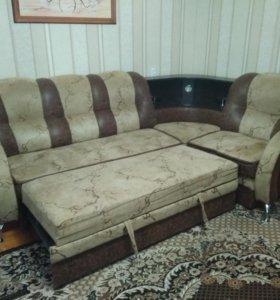 Раздвижной диван уголок