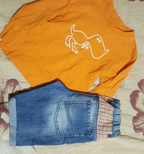Водолазки и шорты