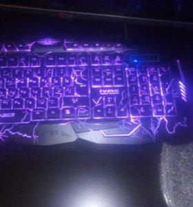 Игровой набор - клавиатура + мышь var 363