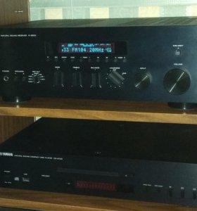 Стерео ресивер Yamaha R-S500 + Yamaha CD-S700