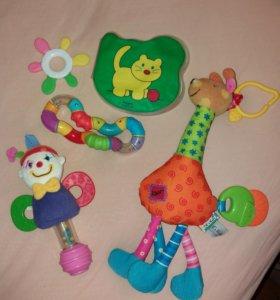 Фирменные развивающие игрушки K's kids и др