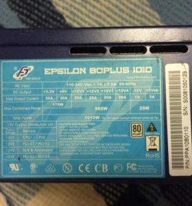 БП FSP Epsilon 80plus 1010
