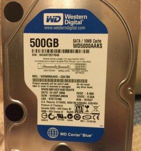 WD 500gb