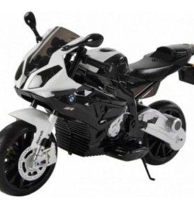 Детский Электромобиль Мотоцикл BMW S1000PR (Новый)