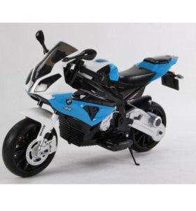 Детский Электромотоцикл BMW S1000PR Blue 12V