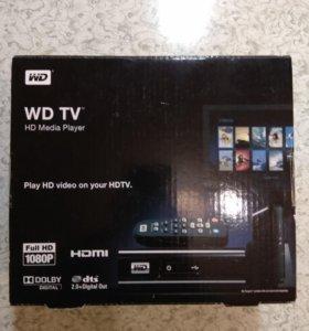 HD медиаплеер WD TV