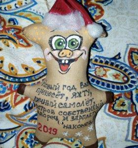 КОФЕЙНЫЕ ИГРУШКИ подарки к Новому году