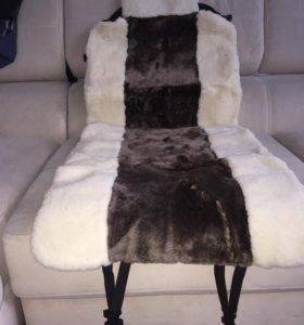 Меховые и шерстяные накидки на сидения