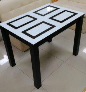 Стол обеденный Ривьера (Белый/Венге)