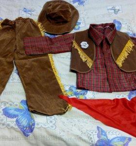 Новогодний костюм ковбой