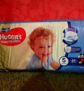 Huggies Ultra Comfort для мальчиков подгузники