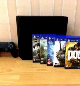 Новая PS4 слим 500гб