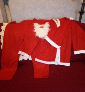 Костюм Санта Клауса, взрослый
