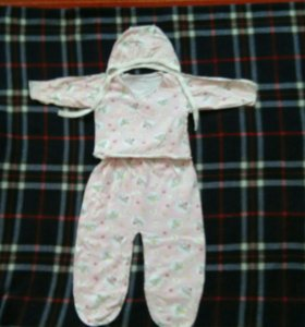 Костюмы на новорожденную