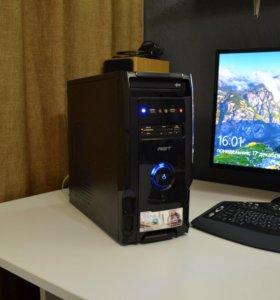 Современный домашний системный блок с DDR3 4 гига