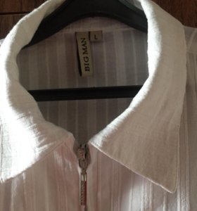 Рубашка муж 48-50 лен
