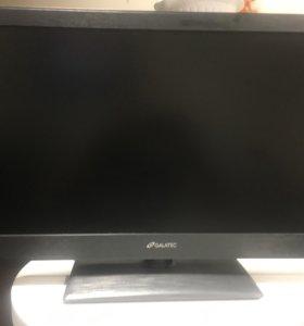 """Продам б/у LED TV 24"""" GALATEC"""