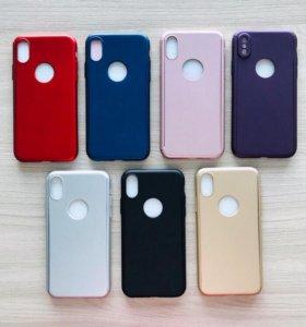Чехлы 360* для iPhone X/Xs