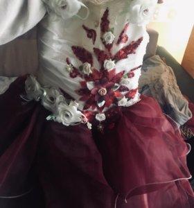 Платье пышное,детское