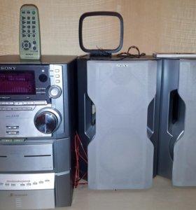 Sony HCD-ZX10 (Нужен ремонт)