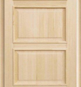 Деревянные двери по размерам заказчика