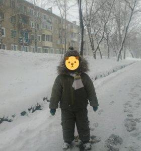 Костюм зимний на мальчика