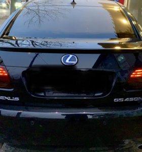 Крышка багажника GS со спойлером