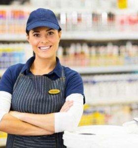 Требуется продавец консультант в продуктовом магаз