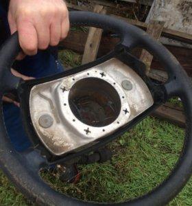 Руль с рулевой колонкой Mercedes 126