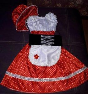 Новогодний костюм Красная шапочка