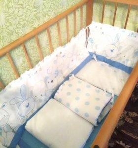 Комплект и кроватка