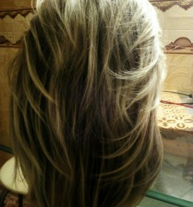 Шикарный парик( новый)