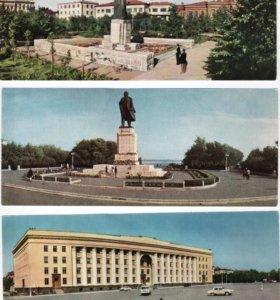 Набор открыток Ульяновск 20 штук 1968 г.