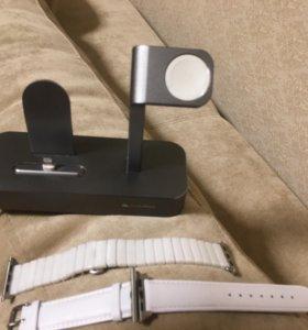 Зарядное устройство для IPhone и Apple Watch