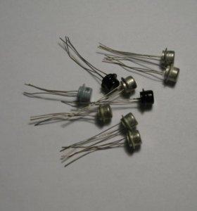 Транзисторы МП 42, 41, 21, 39, 101, 40
