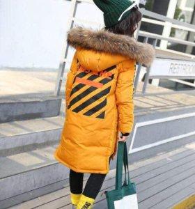 пальто новое р. 134-160 см