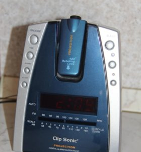 Умный будильник с радио/лазером