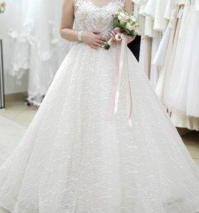 Свадебное платье 👗р44-46