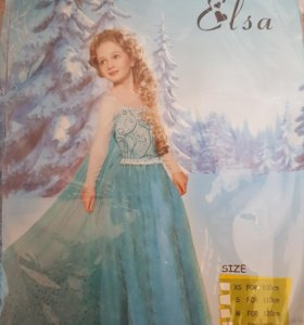Новогодний костюм Эльза
