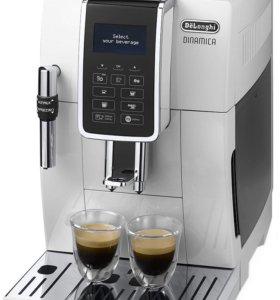 Новая кофемашина De'Longhi ECAM 350.35, белая