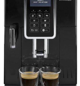 Новая кофемашина De'Longhi ECAM 350.55, чёрная