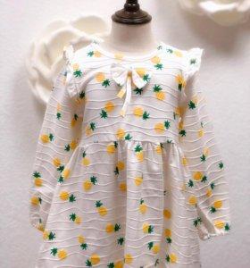 Красивое праздничное платье, размер 120
