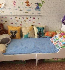 Детская кровать Сундвик Ikea