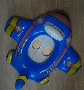Круг для купания самолет