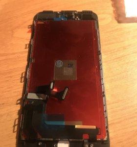 Дисплей (модуль) iPhone 7 Plus чёрный